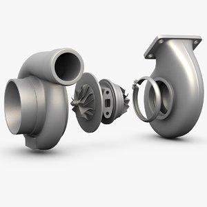 3d turbocharger turbos