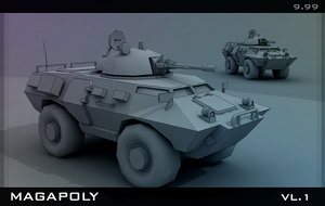 armored transport max