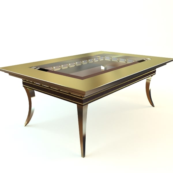 maya table glass contemporary