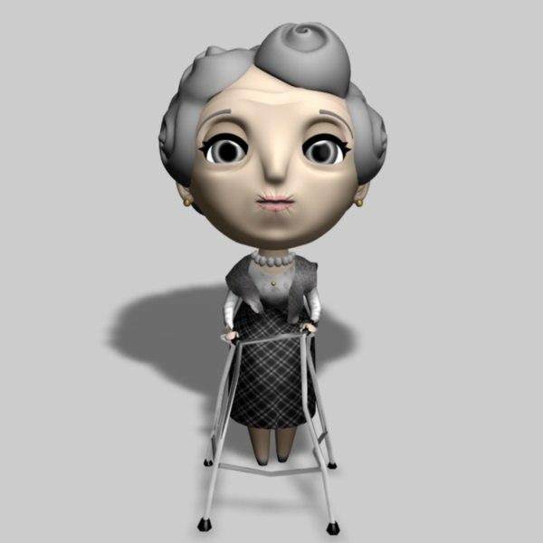 Old lady model