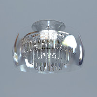 3d model contemporary chandelier