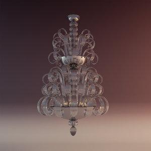 3d lamp andromeda model