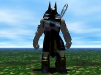 anubis 2 god 3d model