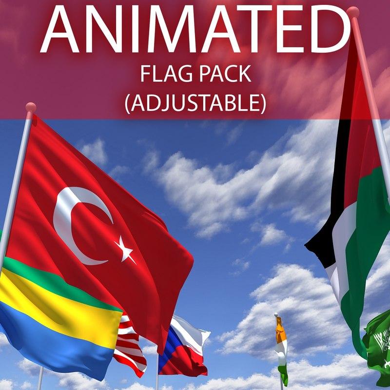 flag adjustable max