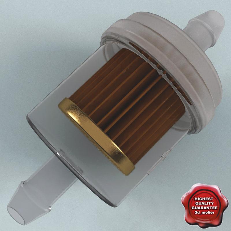 gasoline separator 3d model
