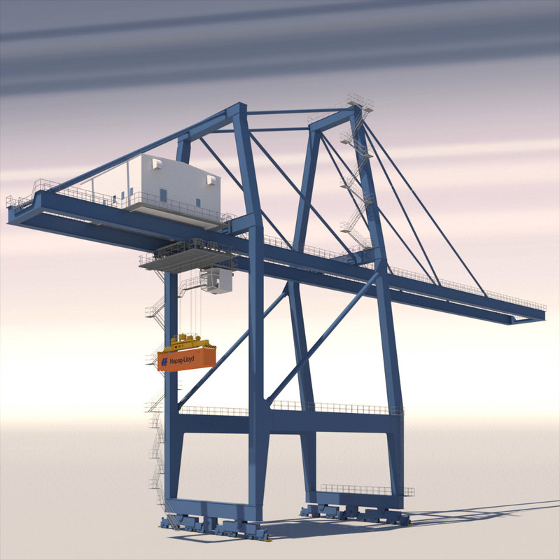 3d iso container model