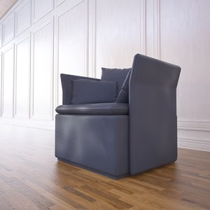 liam chair 3d model