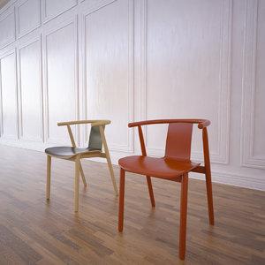 3d bac chair model