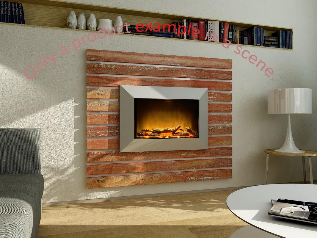 fireplace 10 3d model