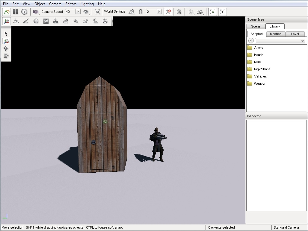 3d model outhouse ready torque 2010
