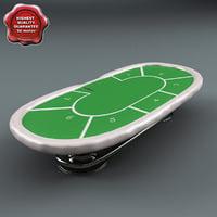 Poker Table Green
