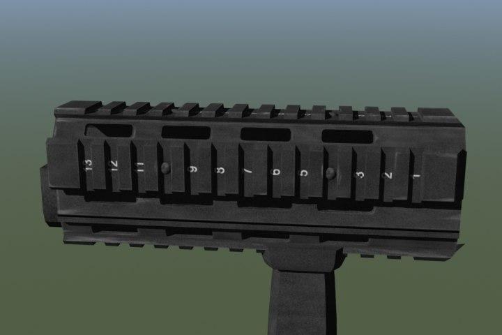 rail interface ris galil rifle fbx