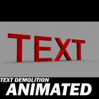 Text Demolition
