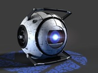 Wheatley - Portal 2 Video Game Character