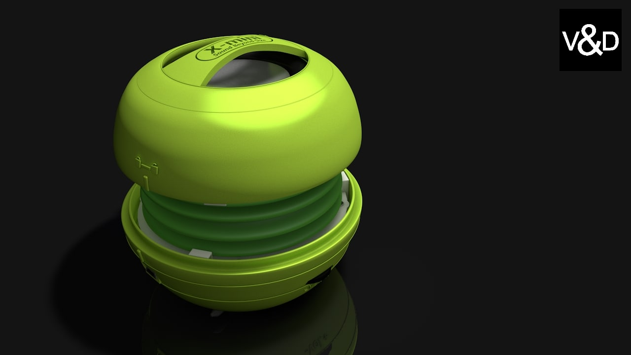 3d model x-mini speaker