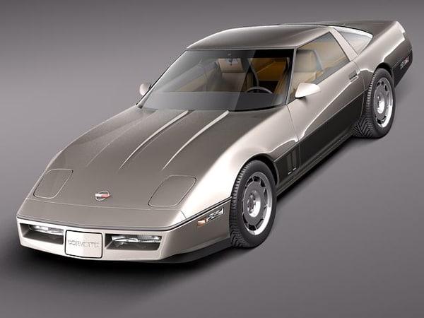 3dsmax chevrolet corvette coupe sport