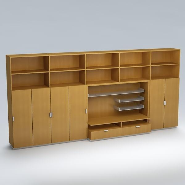 free wardrobe 3d model
