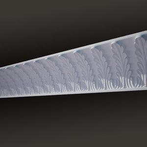 decorate cornice 3d model
