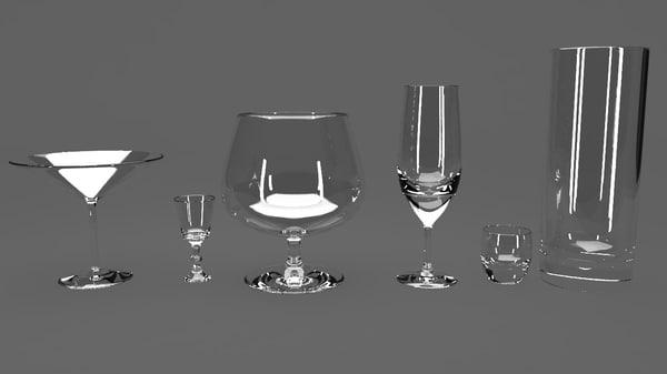 3d glasses sherry