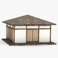 japanese house c4d