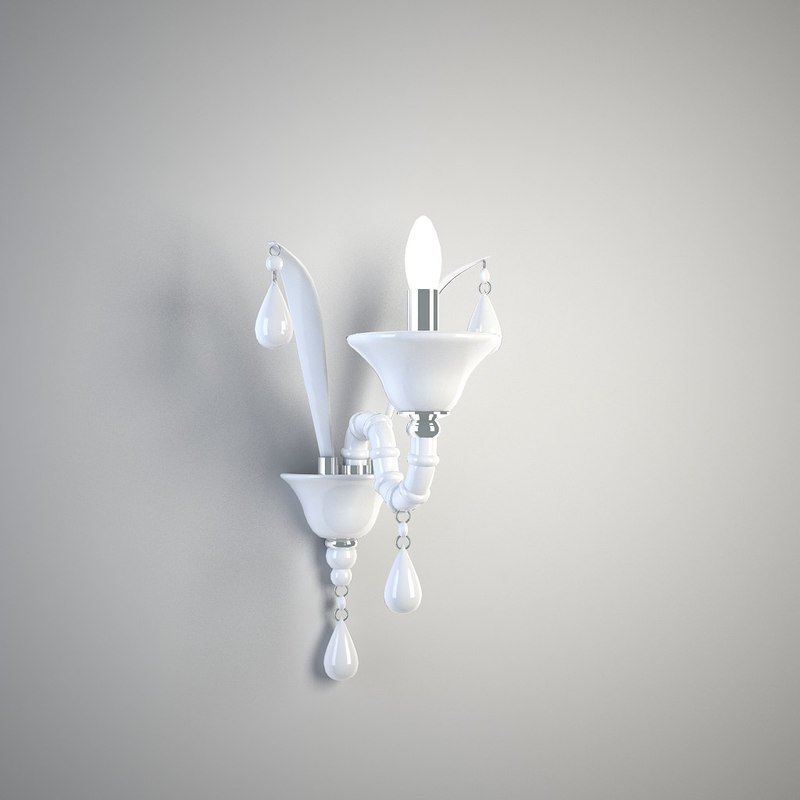 murano lamp 3d max