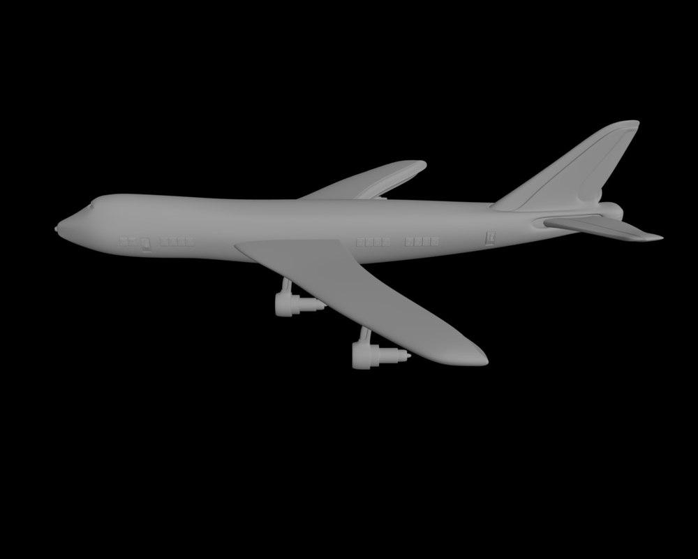 3d jumbo jet