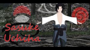 sasuke anime naruto shippuden 3d max