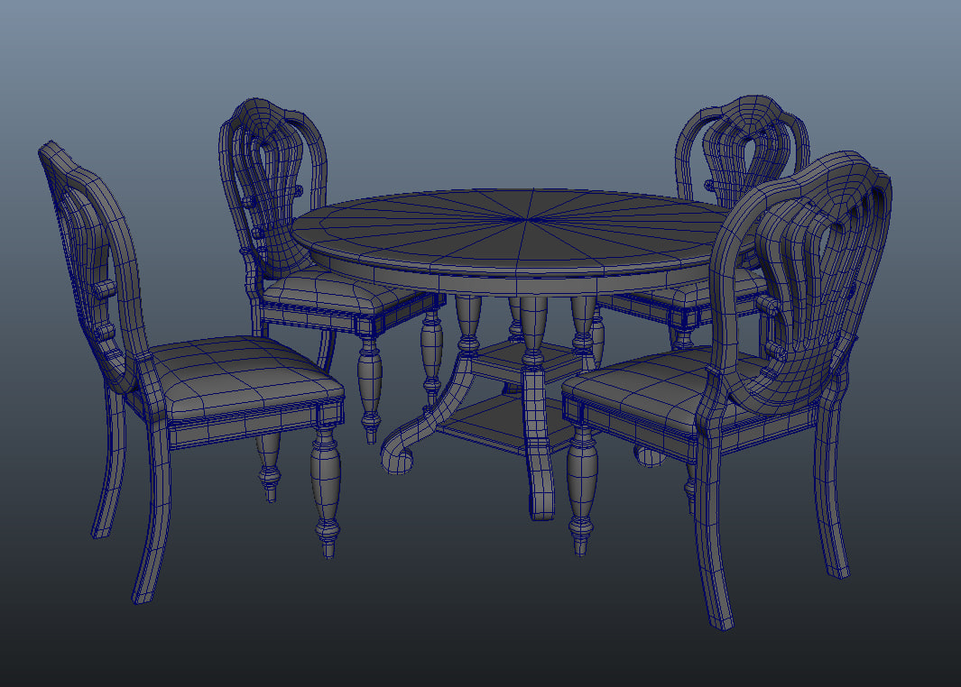 obj dining set