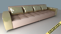 Modern Sofa Golden
