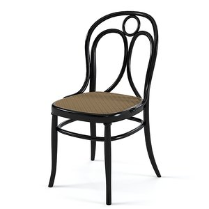 3d model of vienn dining chair