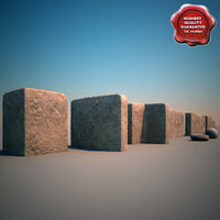 afghanistan walls 3d 3ds