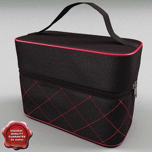 cosmetic bag 3d max