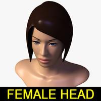 3dsmax female head
