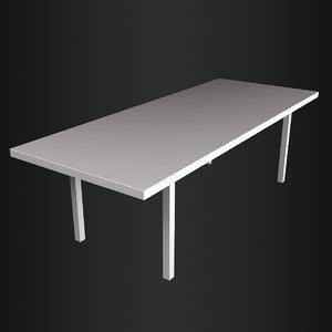 3ds max kenzo soho table