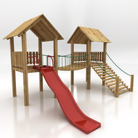 kids climbing playground 3d 3ds