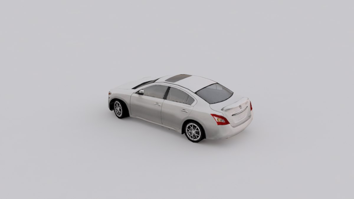 maxima cars colors 3d fbx