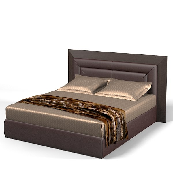 3d smania double bed model for Latest model bed design