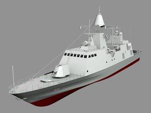 baynunah class multipurpose 3d model