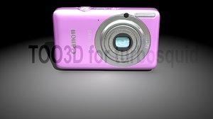 obj compact camera canon