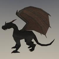 Dragon (Low poly)
