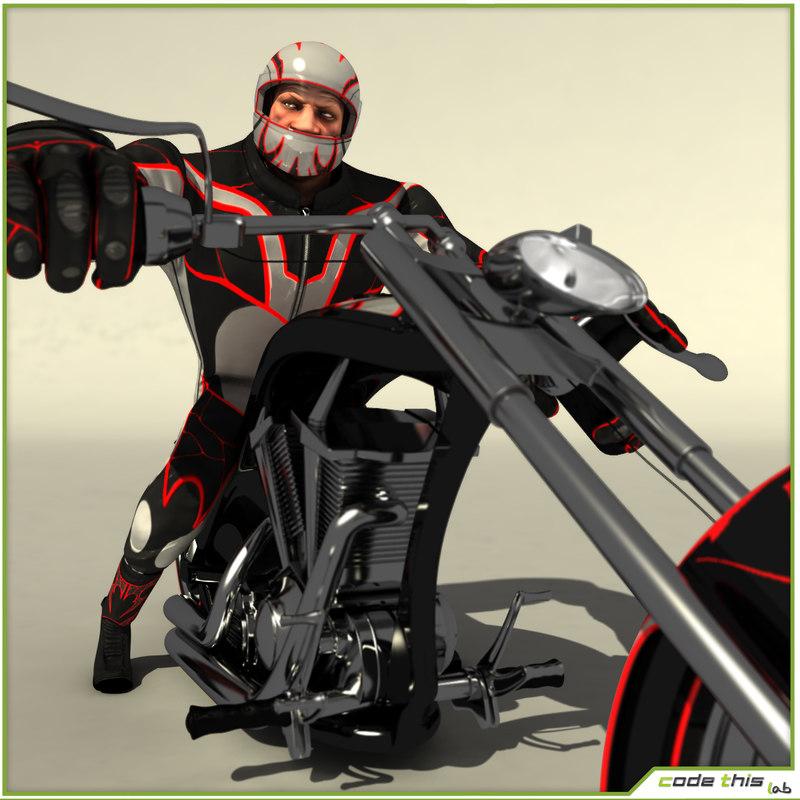 package kart biker max