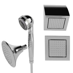 3d model of kohler forte shower
