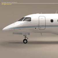 embraer legacy 500 generic 3ds