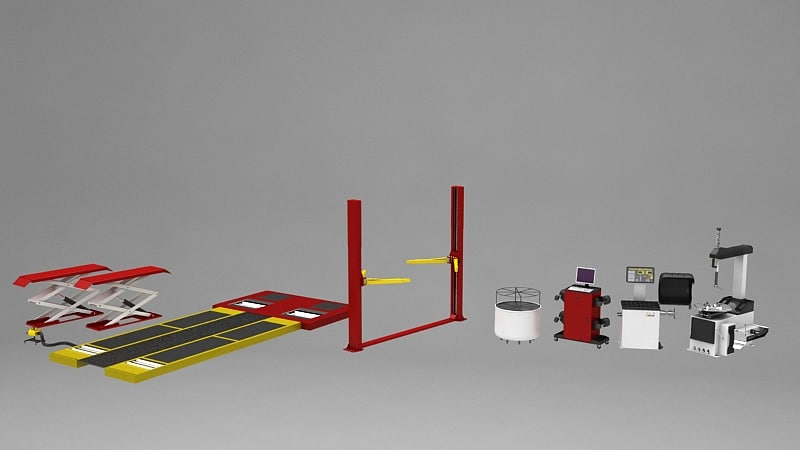 3ds max tire changer
