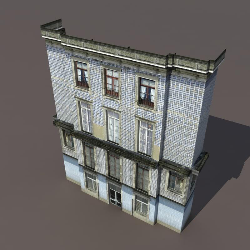 house apartment 3d max