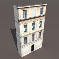 3d model building exterior