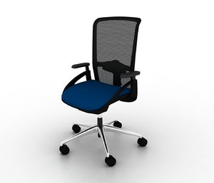 3d sputnik task chair model