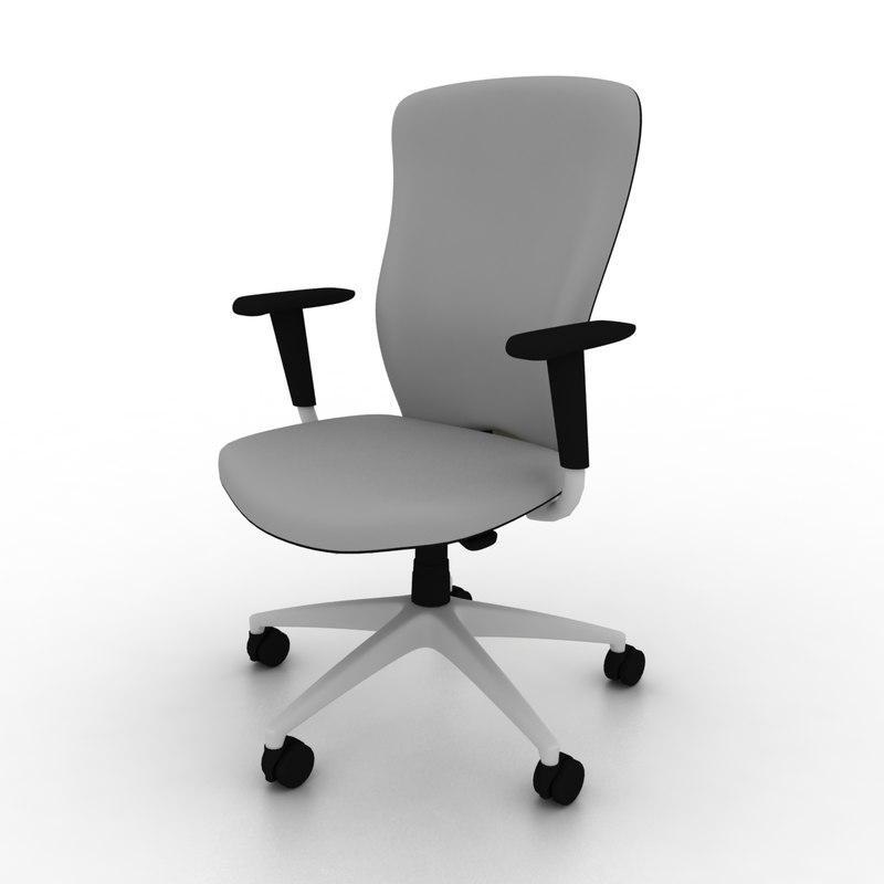 3ds max komac swivel chair