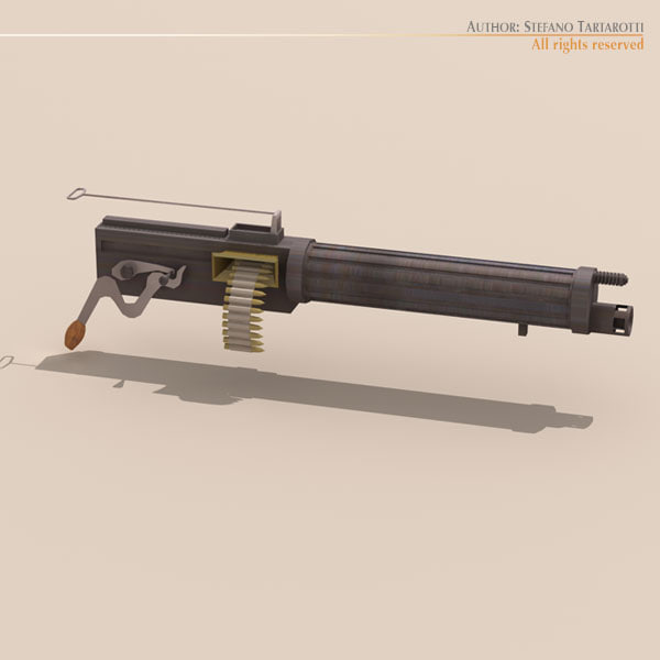 3ds vickers machine gun