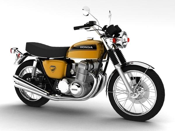 c4d honda cb750 k0 1969